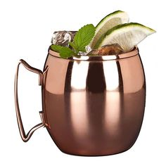 Moscow Mule Copper Mugs with 4 Straws and Shot Glass - Set of 4 HandCrafted Food Safe Pure Solid Copper Mugs - Bonus Highest Quality Copper Shot Glass and 4 Copper Straws - Attractive Box Moscow Mule Drink, Copper Moscow Mule Mugs, Copper Mugs, Popular Drinks, Mugs For Sale, Ginger Beer, Mugs Set, Safe Food, Restaurant Supply