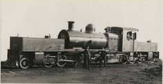 It is a pity that none of our Western Australian MS or MSA Garratts were preserved. But in memory of them here is a photo that not only has an MS Garratt but also a photo of Garratt himself as well.