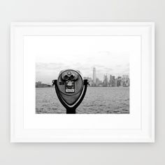 Buy Manhattan NY Framed Art Print by haroulita!!. Worldwide shipping available at Society6.com. Just one of millions of high quality products available.