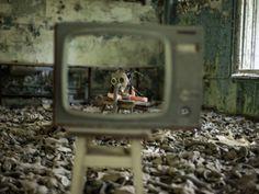 Színek és foltok Chernobyl, Security Systems, Firefighters, Hospitals