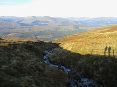 Another great view from the Nevis Range, Scotland. 2011.