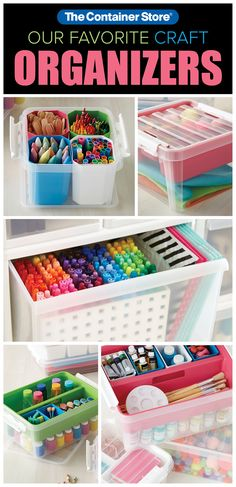 Keeping craft supplies organized will save you time. Keeping craft supplies organized will save you time.
