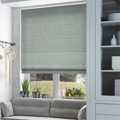 Penrith Duck Egg Roman Blind from Blinds 2go