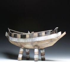 Mary Fischer Boat Sculpture