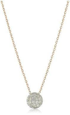 "SALE!! Dana Rebecca Designs ""Lauren Joy Mini"" 14k Rose Gold Diamond Necklace REVIEW"