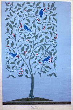 William Morris - I like the clipped canopy idea