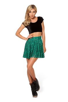 Rhaegal Dragon Egg Skater Skirt by Black Milk Clothing $60AUD