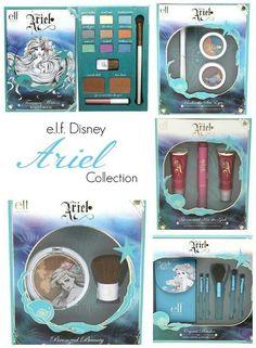 """E.l.f """" ariel"""" collection!!"""