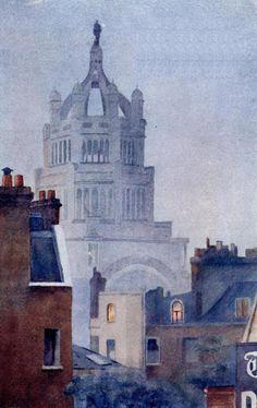 South Kensington Museum - Yoshio Markino