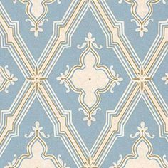 AB803, Frampton, Blue, Clarence House Wallpapers