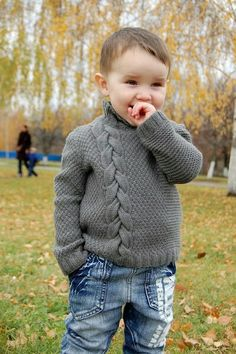42 ideas baby crafts for boys knitting patterns for 2019 Boys Knitting Patterns Free, Baby Cardigan Knitting Pattern Free, Knitting For Kids, Crafts For Boys, Baby Crafts, Baby Boy Baptism Outfit, Knitted Baby Clothes, Sweater Design, Baby Sweaters