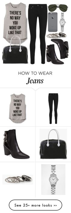 """Style #9111"" by vany-alvarado on Polyvore featuring INC International Concepts, Yves Saint Laurent, MANGO, Balmain and ASOS"