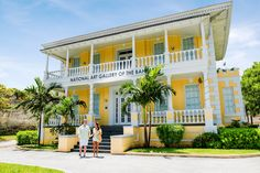 Must see: The National Art Gallery of the Bahamas.
