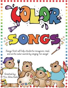 Mrs. Solis's Kinder Class: Color Song Posters and Cards (Frog Street Press)