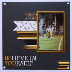 TOTALLY LOVE THIS!    Unlv BElieve In   YOUrself...nice and simple, and love the saying