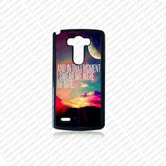 LG G3 case Lg G3 Phone case infinity quote Lg G3 case by KrezyCase