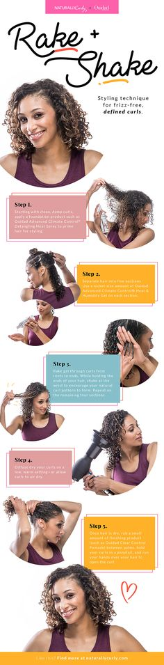 Rake & Shake: The Curl Defining Technique That Fights Frizz
