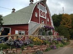 The Barn at Hauser's..winery in Bayfield,WI