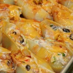 mexican chicken stuffed shells These are SO good!!!!!!!!!!
