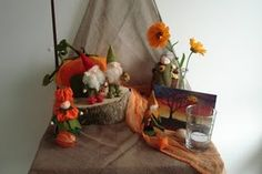Early Fall Nature table