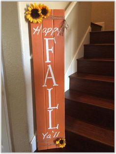 44 Easy and Practical DIY Fall Decor Ideas. To create a fantastic fall decoration you will need a brilliant idea and some unusual elements. If you wish to save a few of these fabulous DIY fall decor i. Fall Projects, Diy Pallet Projects, Pallet Ideas, Diy Projects Made From Pallets, Pallet Designs, Wooden Projects, Fall Wood Crafts, Diy Crafts, Easy Fall Crafts