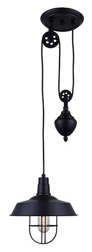 lampe suspendue simple chester code bmr 049 4519. Black Bedroom Furniture Sets. Home Design Ideas