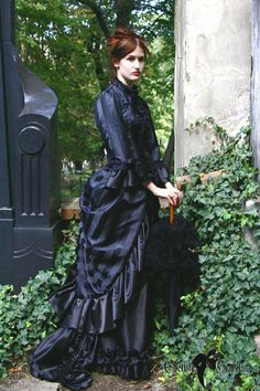 Hey, I found this really awesome Etsy listing at https://www.etsy.com/listing/115495560/satin-victorian-dress