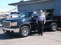 Jay and Sayona Perry of Vandalia and their new 2007 GMC SIERRA ! Congratulations and best wishes from Hosick Motors, Inc. and Sales Pro Bryan Hobbie.