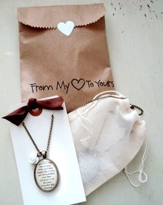 my jewelry packaging from my Etsy shop, Sweetly Spoken Jewelry