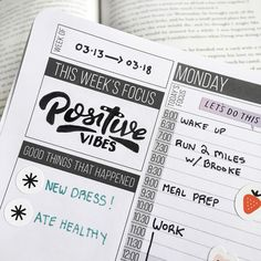 "204 Likes, 3 Comments - Passion Planner (@passionplanner) on Instagram: ""Our week's focus is… to spread positive vibes! ✨ - Make this week a good one, #Pashfam! ❤ -…"""