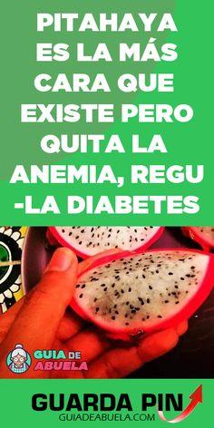La pitahaya es una fruta espectacular. Esta tiene una pulpa bastante dulce y suave con un sabor similar al melón y al kiwi. También, su corteza irregular y paneles escamosos le dan esa sensación de piel de dragón, por esto también es conocida como fruta de dragón. #frutadragon #kiwi #melon #pitahaya #cancer #diabetes #anemia #remediocaseros Quites, Kiwi, Diabetes, Food, Pitaya, Adrenal Cortex, Homemade Recipe, Health Tips, Herbs