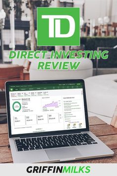 TD Direct Investing setup and review for 2019! Make More Money, Make Money Blogging, Make Money From Home, Money Saving Tips, Investing Apps, Online Stock, Stock Broker, Budgeting Tips, Earn Money Online