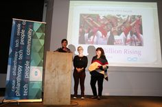 Susan Swan accepting Compassion Week Award for Social Justice