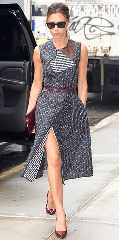 Look of the Day - June 10, 2014 - Victoria Beckham from #InStyle