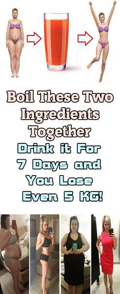 JUST BOIL 2 INGREDIENTS, DRINK EVERY DAY AND LOSE 5 KG IN 7 DAYS (RECIPE) via @globalpublichealth