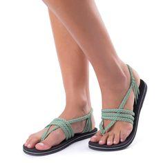 3e91f8dfb66f Zori Sage Green – Plaka Sandals Yoga Sandals