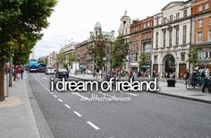 YES YES YES YES YES YEEEESSSS!!!! I dream of rolling hills, friendly pubs, amazing people, gorgeous accents, charming small ancient cities, incredible dedication to their country, and meeting Niall at his parents house for dinner. The first person to buy me a plain ticket to Ireland when Niall is there gets to be my grooms men or maid of honor!!! ksm