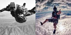Jumping then and now - action camera, sport camera, gopro