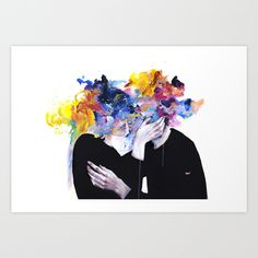 Buy intimacy on display Art Print by agnes-cecile. Worldwide shipping available at Society6.com. Just one of millions of high quality products available.