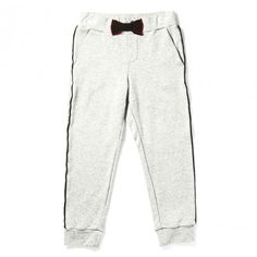 Must have: fleece pants by Little Marc Jacobs http://www.littlefashiongallery.com/fr/mode-enfant/little-marc-jacobs/pantalon-maille-gris-clair-chine-cloudy-grey-little-marc-jacobs-h13/