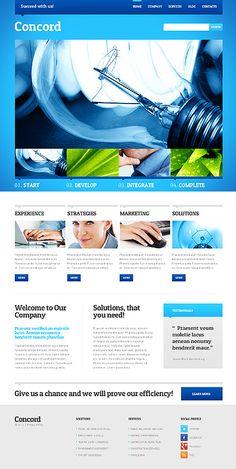 Website Template #webdesign #wordpress