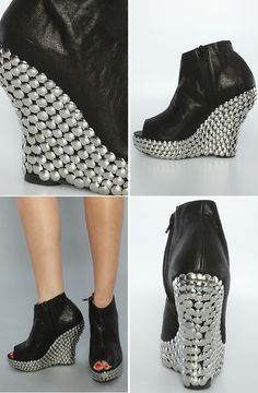 Tacked wedges #inspiration