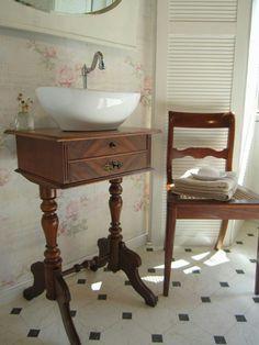Badschränke Holz badmöbel landhaus das badezimmer soll in einem ganz besonderen