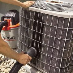 21 Air Conditioner Maintenance and Home Cooling Tips The Effective Pictures We Offer You About home maintenance log A quality picture can tell you many things. You can find the most beautiful pictures The Family Handyman, Home Improvement Projects, Home Projects, Window Well, Home Fix, Diy Home Repair, After Life, Home Ownership, Home Repairs