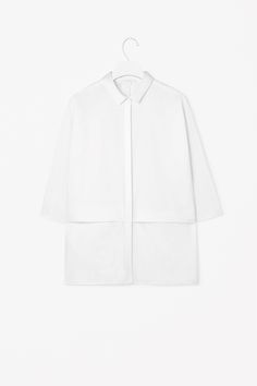 Folded front shirt