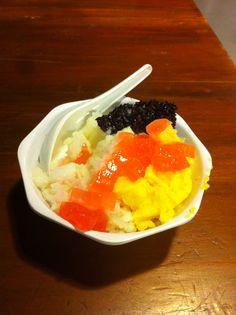 Ice Doger.. Really nice Indonesian dessert