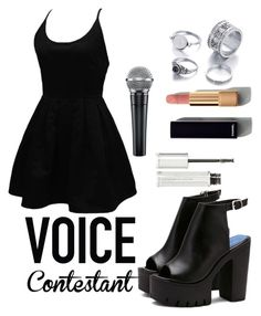 Untitled #101 by moonlightprincessss on Polyvore featuring polyvore fashion style WithChic Chanel Givenchy clothing thevoice YahooView