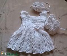 Horgolt baba ruha (anyuci14) - Meska.hu Summer Dresses, Handmade, Fashion, Toddler Sewing Patterns, Moda, Hand Made, Summer Sundresses, Fashion Styles, Fashion Illustrations