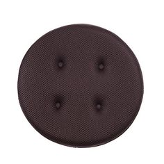 "baibu Super Breathable Round Bar Stool Cover Seat Cushion Brown 14""  Size: approx. 14"" (Dia.) x1.2""(Thickness) ,Custom-fit Elasticized Edges.  Material: Outer--high quality mesh fabric, Inner--high quality sponge,will provide more Comfort & Relaxation.  Ergonomic Designs:Super Breathable,Absorb Sweat Fast, Anti Bacterial,Strong Long Lasting,Slip Resistant Back.  Multi Occasions:Add a classy finish to your stool in Bar,Pub, Club,Patio,Garden,Dining,Kitchen etc.  Easy to clean: Wipe with..."
