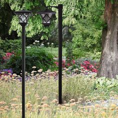 solar patio lanterns | Home Pair of Solar Powered Lamp Post Lights Patio Lanterns, Solar Lanterns, Garden Lamp Post, Solar Powered Lamp, Lamp Post Lights, Outdoor Structures, Lighting, Solar Powered Lanterns, Lights